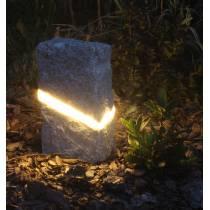 Lampa ogrodowa Kamień Granit