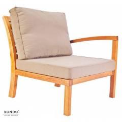 Fotel MILANO z lewym podłokietnikiem