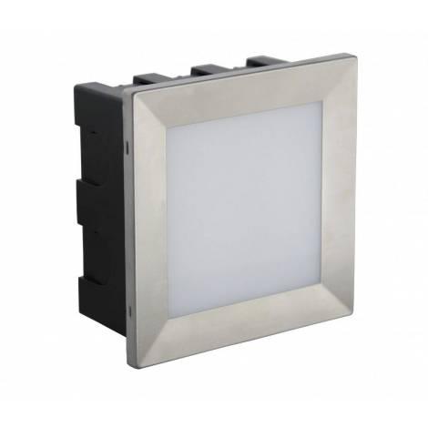 Lampa do zabudowy MUR LED INOX